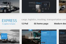 EXPRESS - MODERN TRANSPORT & LOGISTICS PSD TEMPLATE / Express is a PSD Design template suitable for cargo, logistics, trucking, transportation companies, warehouse and freight business. This PSD Template comes with 12 fully layered & easily editable PSD files that are well-organized in layers & groups. It features 3 Home Pages, 9 Sample Pages and so much more. In addition, this divine PSD Template is able to be used for WordPress, Joomla, Drupal or any other CMS: http://bit.ly/express-psd