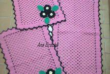 Tapetes / Tapetes de crochê para decorar sua casa, / by Ana Crochê