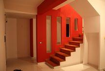 via arturo viligiardi / ristrutturazione appartamento su due livelli con rifacimento bagni, cucina, pavimenti, impianti, pitture