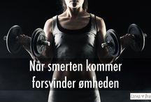 Træning / Tips og min erfaring med træning