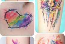 Colourful tattoo ideas