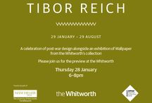 Tibor Reich Exhibition / We're sponsoring the exhibition this year at The Whitworth Art Gallery. Follow us to keep up to date with all that's going on!