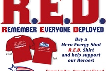 R.E.D. Shirt Friday Remember Everyone Deployed