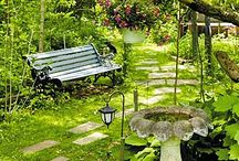 peaceful gardens