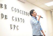 Primer Concurso de Canto UPC. / El día miércoles 11 de febrero se llevó a cabo el primer concurso de canto en la UPC.