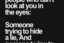 I cant look people in The eye because people