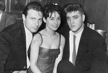Roland Carey con Elvis