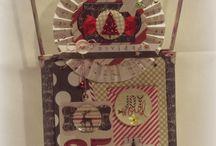 3flowers in Christmas / Scrap and DIY in Christmas