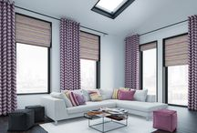 Bright Ideas for Windows in 2018 / Ensure there's never a dull moment in 2018 with the latest trend for intense, manmade colours.  Futuristic shades of Ultra Violet, Magenta, Electric Blue and Tech Orange will be a shining light for bright sparks everywhere this year.