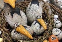 Nest vogels raku