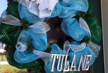 Green & Blue Galore / by Tulane University