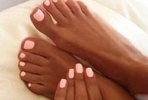 makeup, manicure, pedicure