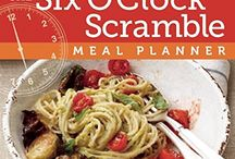 The Six O'Clock Scramble Meal Planner Cookbook / articles and blog posts about The Six O'Clock Scramble Meal Planner Cookbook