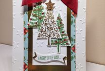Cards - Stampin Up Christmas