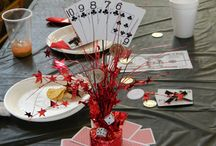 Casino Night Centerpeices / The name says it all ;) / by Jessica Kitzen