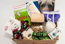 Howliday Gift Boxes / Four different boxes, each stuffed with merry, bright gifts for pups AND peeps. Created by Minnesota makers with a serious love for dogs. And benefiting Mission Animal Hospital, MN's first and only nonprofit vet. FREE SHIPPING! SidewalkDog.com/Shop