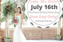 ::National Bridal Sale - Extended // July 16-31, 2016::