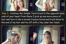 Girls hair / by Kristine Dorrain