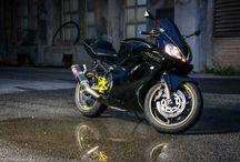 Honda cbr 600 f4i / My Black 2001 Honda CBR 600 F4i!
