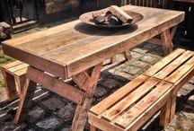 mesas madeira