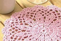 tablecloth, doilies, carpets
