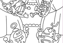 COLORING PICTURES FOR KIDS  / Enjoy coloring these wonderful pics from our new family of Apps!  Have FUN!   / by Ebooks&kids
