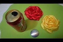 rosa con lattine