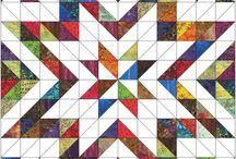 patchwork half square triangles