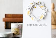 Craft ~ Congratulations / Congratulations ~ cards, packaging, tags, wrapping and gifts