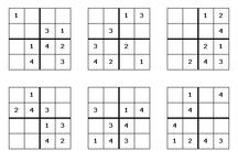 sudoku groep 4