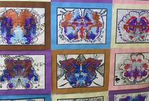 Primary art / Random ideas for my Grade Prep art class.