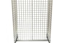 Gridwall Panel - Gridwall Display - Mesh Panel - Mesh Display - Fashion Display - Mesh Gondola