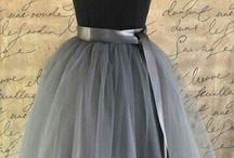 Tule skirt dress