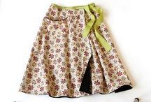 zavinovací sukně