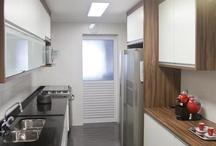 Cozinha / Integradas ou não as cozinhas devem ser funcionais.