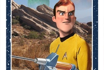 "Star Trek Pixar Style / This Is What A Pixar ""Star Trek"" Reboot Would Look Like. To boldly go to infinity and beyond!  Canadian artist and illustrator Phil Postma gave the cast of Star Trek: The Original Series the animated treatment."