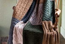 knitting or sewing quilt blanket ideas