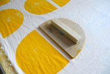Fabric stamping