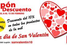 San Valentín / Cupón descuento para celebrar contigo el dia de San Valentin #modajoven Discount coupon with you to celebrate the Valentine's Day  #sanvalentin  http://www.yoelcollection.com