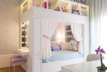 Quarto criativo / Maravilhosas inspirações de quartos criativos, para você se inspirar!