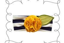 Headband Inspiration / Boutique & DIY headbands for little girls