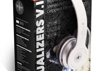 Equalizer V.1 Collection - Wireless Headphones /   12 Pins  With the Equalizers V.2 Bluetooth Wireless headphone by Gripped Fitness Audio, you don't have to sacrifice durability for affordability Never worry about getting your headphones ripped off mid-workout again. And, with enhanced tone-boosting parts, you'll be able to attack your workout harder than ever before. Affordable, Stylish, Durable. Need we say more? HEADPHONES ON, WORLD OFF