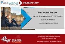Pass World, France delegate visit at Riya Education