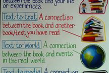 Reading- Making Connections / Resources and ideas for teaching about using schema and making connections while reading.