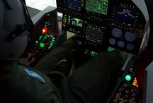 F-18 simulator cockpit / F/A-18 Superhornet / F-18 simulator - fully physical cockpit of F/A-18 Superhornet (Prepar3d + TacPack + Superbug)