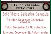 City Collection / Find holiday updates, insight on our collection, the Recycling Wizard and more on this board!