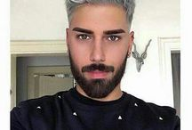 Men haircolor