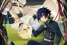 """Owari no Seraph / """"On the battlefield, what doesn't kill you makes you stronger."""""""