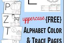 Preschool - Printables - ABC