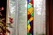 Stained glass / Tiffany o.l